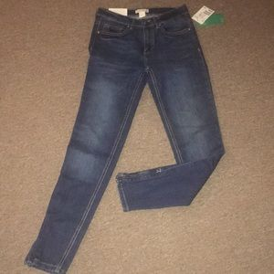 H&m Jeans with ankle zipper.